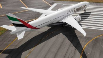 Emirates plane from Dubai suffers bird strike