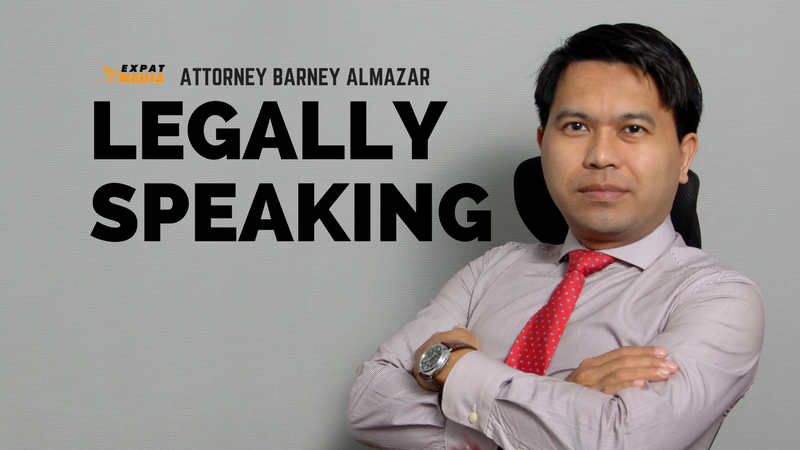 Legally Speaking with Attorney Barney Almazar