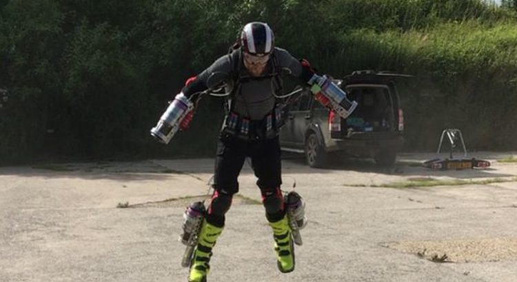 Watch: 'Iron Man' shows off flying suit in Canada