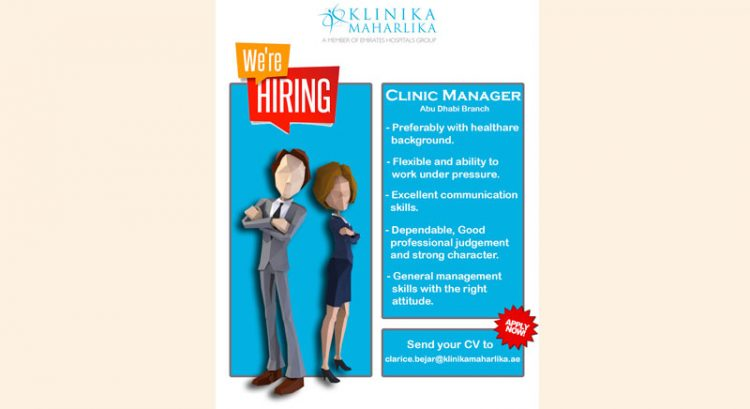 Clinic Manager required