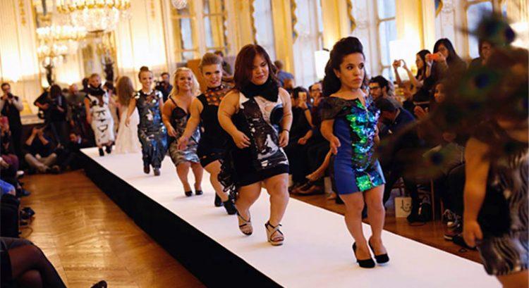 Dwarf fashion show in Dubai stirs controversy