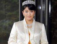 Japanese princess gives up royal status for love