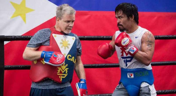 Roach wants Pacquiao to leave early for Australia