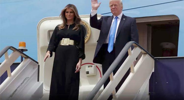 Donald Trump gets royal treatment in Saudi Arabia