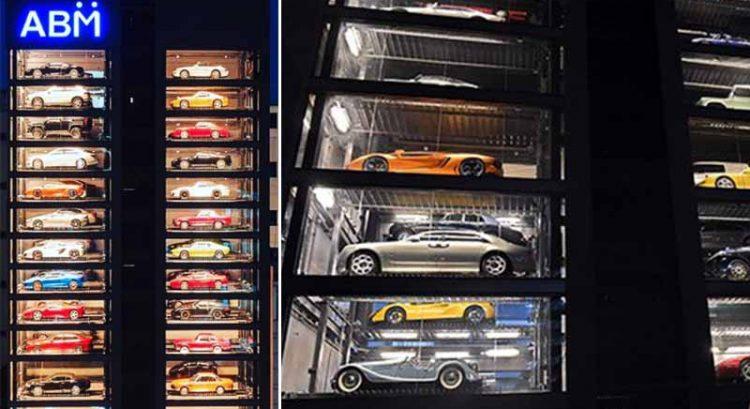 Singapore tower 'dispenses' cars